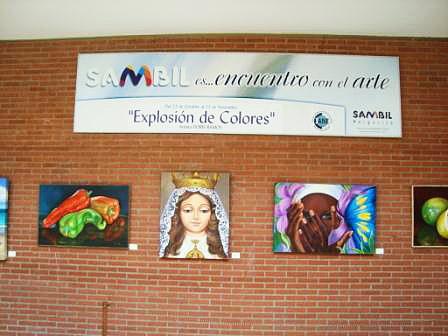 Estas viendo imágenes del artículo: Exposición de Doris Ramos en el Sambil